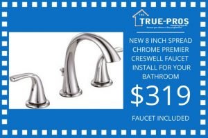 creswell faucet install