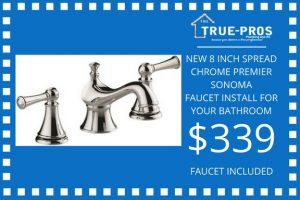 Faucet install for your bathroom